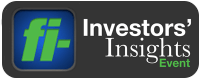 inverstors' Insights Event logo